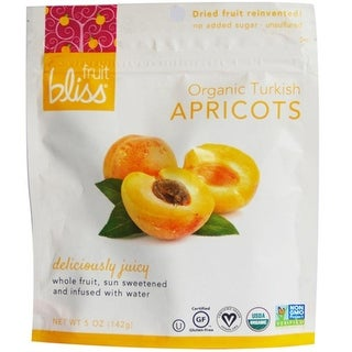 Fruit Bliss - Dried Turkish Apricots ( 6 - 5 oz bags)
