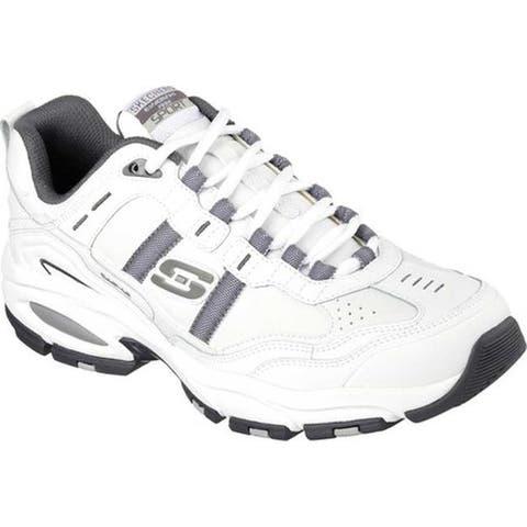 Skechers Men's Vigor 2.0 Serpentine White/Gray