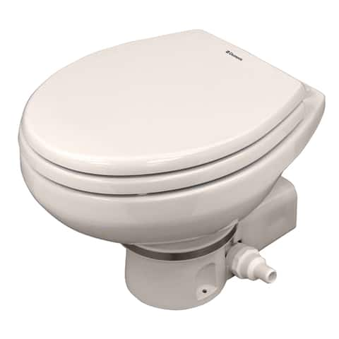 Dometic corporation dometic masterflush 7160 bone electric macerating toilet 304716010