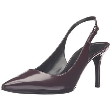 dfca3a74fe531 Shop Nine West Womens Maryla Leather Pointed Toe SlingBack D-orsay Pumps -  Free Shipping On Orders Over $45 - Overstock - 17041971