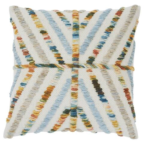 20 x 20 Geometric Accent Pillow, Set of 4, Multicolor