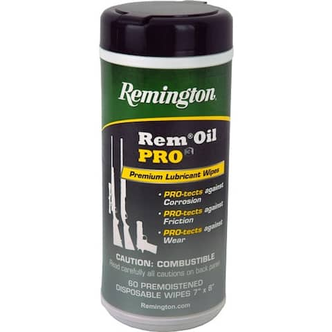 Remington 18922 rem pro3 premium lubricant 60ct. pop up wipes canister