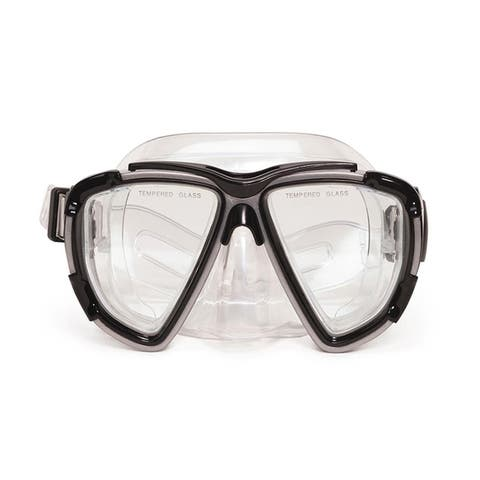 """6.5"""" Kona Gray Pro Mask Swimming Pool Accessory for Teen/ Adults"""