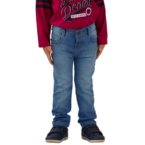 Pulla Bulla Toddler Boy Premium Jeans Denim Pants