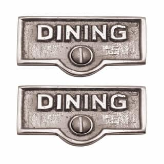 2 Switch Plate Tags DINING Name Signs Labels Chrome Brass Renovator's Supply|https://ak1.ostkcdn.com/images/products/is/images/direct/4df13746ead93fc0d87846b1770c19a0dacbb4d4/2-Switch-Plate-Tags-DINING-Name-Signs-Labels-Chrome-Brass-%7C-Renovator%27s-Supply.jpg?impolicy=medium