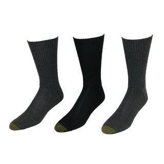 Gold Toe Men's Fluffies Socks (Pack of 3) - One Size