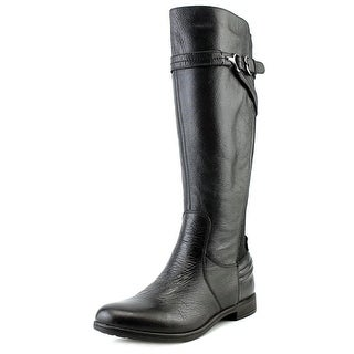 Earth Woodstock Women Round Toe Leather Knee High Boot