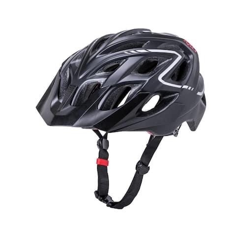 Kali Protectives Bike Helmet Chakra Plus Reflex (Matte Black, L/XL)