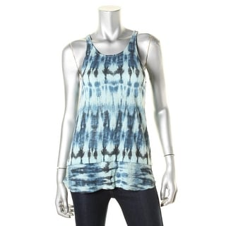 Stateside Womens Knit Layered Look Tank Top - XS