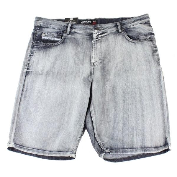 Ecko Unltd Mens Shorts Black Size 44 Denim 759 Relaxed Athletic Fit $64 #052