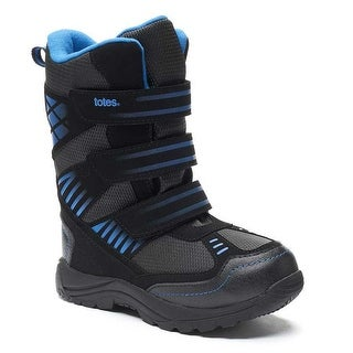 Totes Big Boys Winter Boots Sheldon - Black