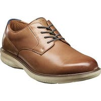 Nunn Bush Men's Marvin Street Plain Toe Oxford Camel Multi Leather