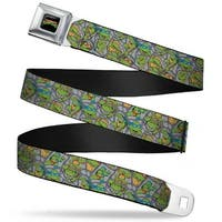 Classic Tmnt Logo Full Color Classic Teenage Mutant Ninja Turtles Seatbelt Belt