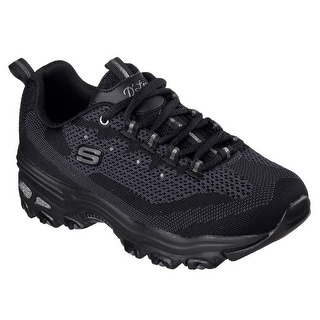 Skechers 11955 BBK Women's D'LITES-REINVENTION Walking