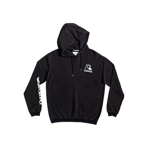 Quiksilver Mens Sweet As Slab Hoodie Logo Sweatshirt