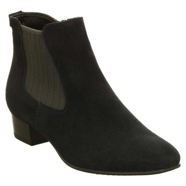 437c3c0973976a Shop ara Women s Millicent 46823 Chelsea Boot Blau Leather - Free Shipping  Today - Overstock - 25594898