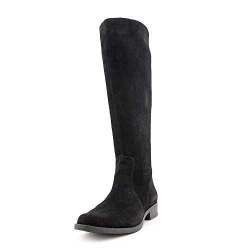 Calvin Klein Taylin Womens Black Suede Fashion Knee-High Boots