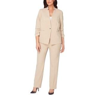 Tahari ASL Womens Plus Pant Suit 2 PC Officewear - 22W