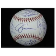 Signed Red Sox Boston 2007 World Series Champions MLB Baseball by the 2007 world series champions t