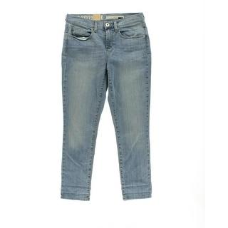 DKNY Womens Soho Boyfriend Regular Fit Mid-Rise Skinny Jeans - 6