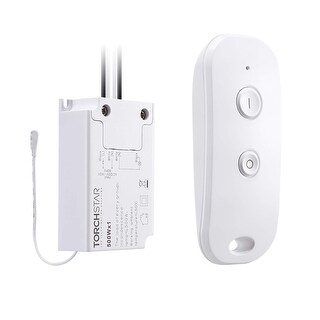 Wireless Remote Light Switch Kit (Switch and Receiver) for House Lighting