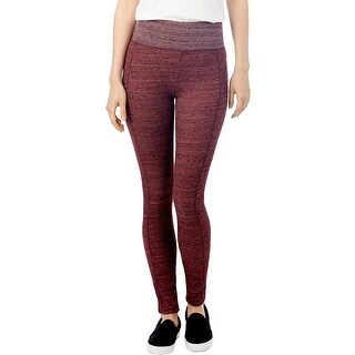 Alternative Apparel Womens Fireside Leggings Space Dye Textured