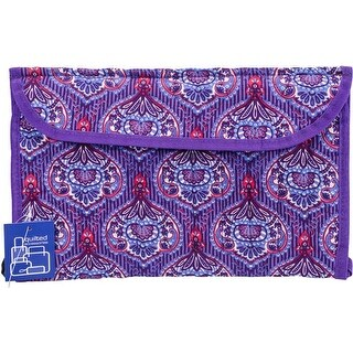"""12.5""""X16"""" Lavender - Mary Maxim Roll-Up Combination Needle Case"""