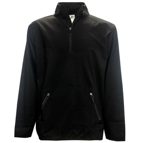 Russell Athletic Men's 1/4-Zip Golf Windshirt