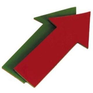 Jumbo Straight Poly Arrow (red/green)