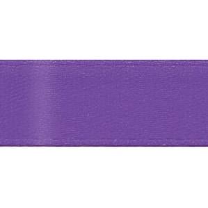 "Single Face Satin Ribbon 7/8""X20yd-Purple"