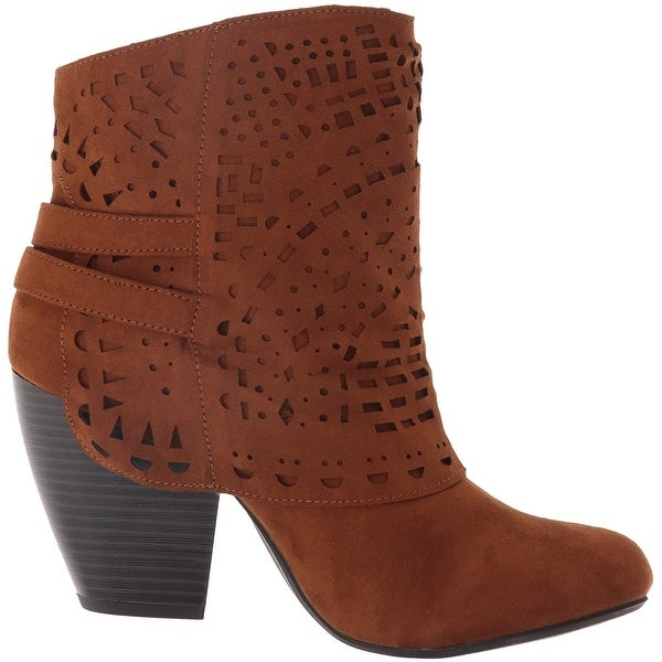 Sugar Womens Tamale Fabric Closed Toe Ankle Fashion Boots - 7.5
