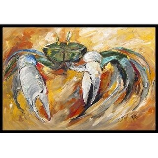 Carolines Treasures JMK1108JMAT Blue Crab Indoor & Outdoor Mat 24 x 36 in.