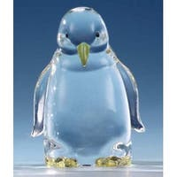 Pack of 8 Icy Crystal Clear Penguin Figurines 3.25""