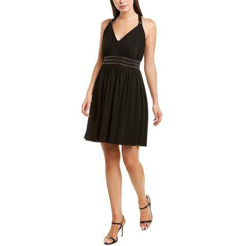 The Kooples Jersey Muslin A-Line Dress