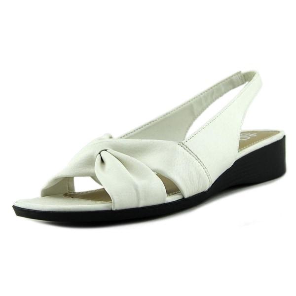 Life Stride Mimosa 2 Women N/S Open-Toe Synthetic White Slingback Sandal
