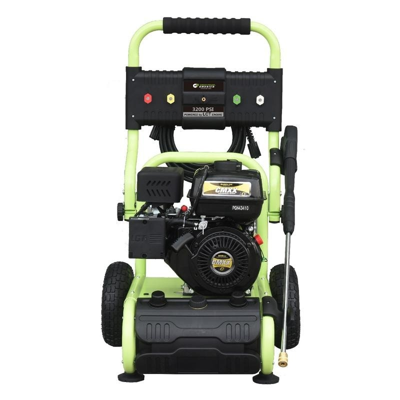 3200 PSI 2 4 GPM Gas Powered LCT Engine Dolly Style Pressure Washer