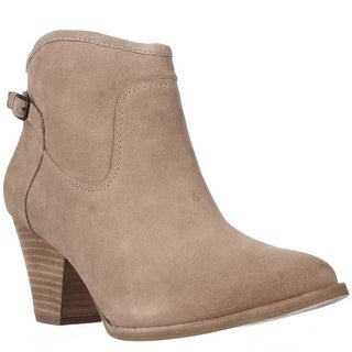 Splendid Rebekah Short Western Booties - Nut
