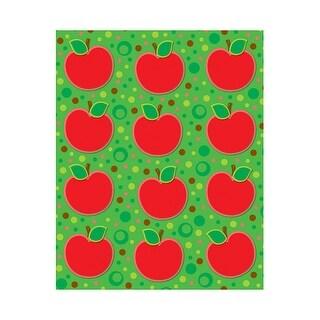 Apples Shape Stickers 72Pk