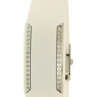 Polar Women's Loop 2 Crystal 90057757 White Silicone Quartz Sport Watch