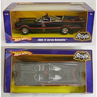Batman Robin 1966 TV Series Batmobile Hot Wheels Car New In Box