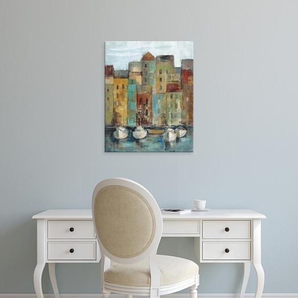 Easy Art Prints Silvia Vassileva's 'Old Town Port I' Premium Canvas Art