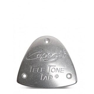 Capezio Unisex Tele Tone Toe Taps, Silver, One