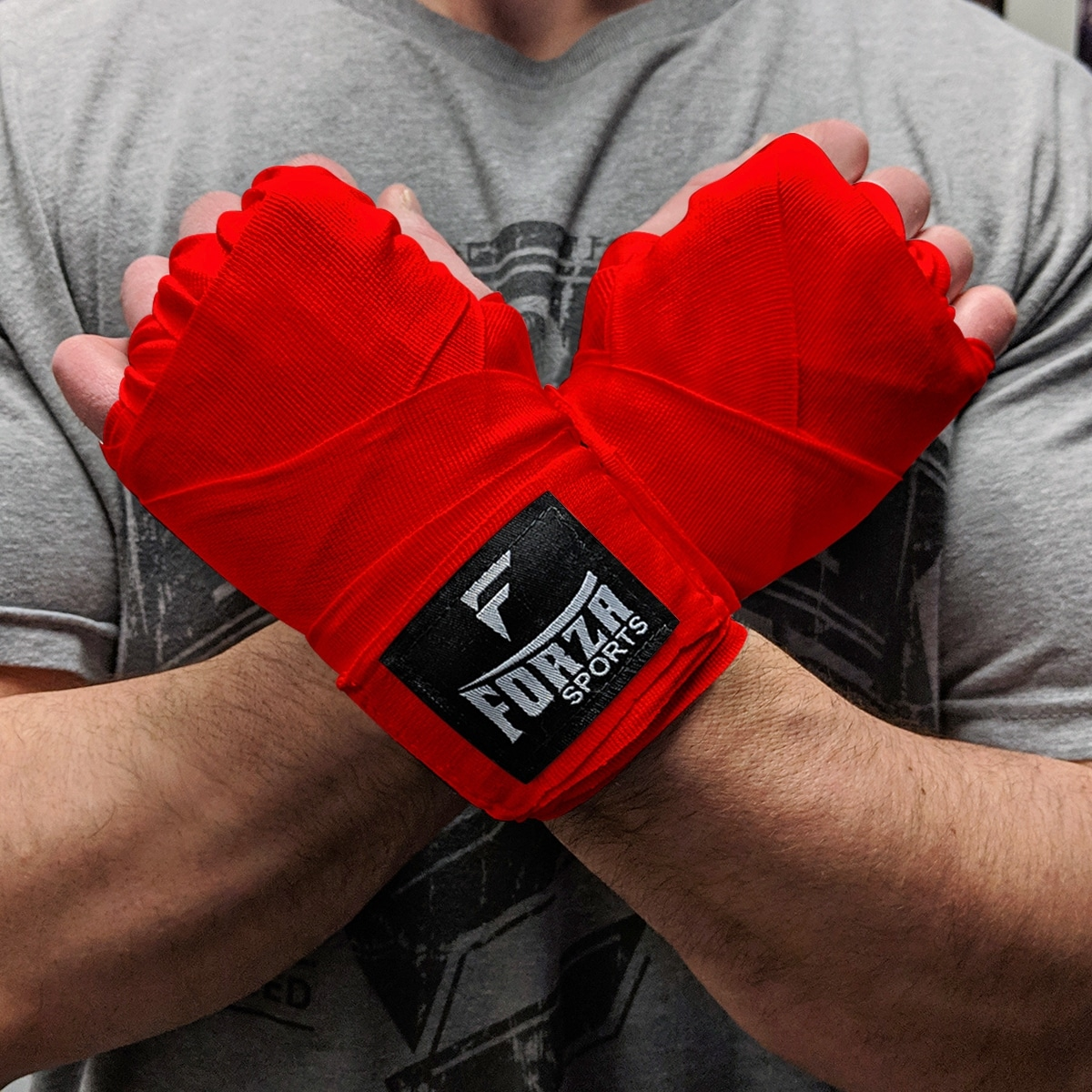 """Forza Sports 120/"""" Mexican Style Boxing and MMA Handwraps 5-Pack"""