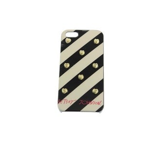 Betsey Johnson Womens Cell Phone Case For iPhone 5 Striped