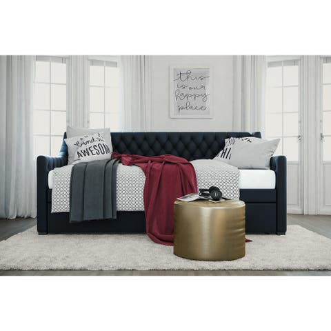 Little Seeds Monarch Hill Ambrosia Upholstered Daybed and Trundle