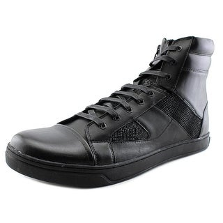 Kenneth Cole NY Swag-er Men Round Toe Leather Sneakers