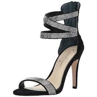 Jessica Simpson Womens Elepina Open Toe Casual Ankle Strap Sandals