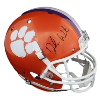 Deshaun Watson Autographed Clemson Tigers Full Size Schutt Replica Helmet BEC
