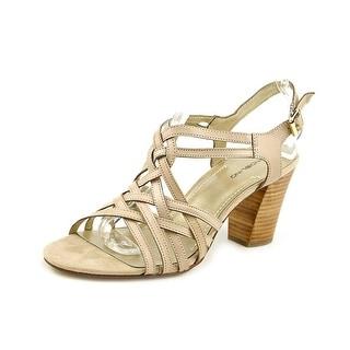Bandolino Kitchie Women Open Toe Leather Sandals