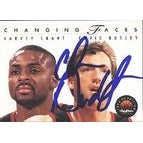 Chris Dudley Portland Trailblazers 1994 Skybox Changing Faces Autographed Card This item comes with a certificate of